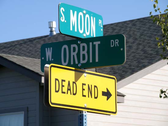 Intersection of Orbit Drive and Moon Place.