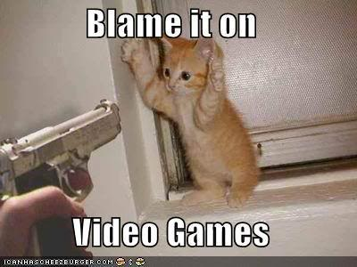 Blame it on Video Games