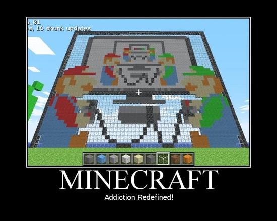 Minecraft / Addiction redefined!