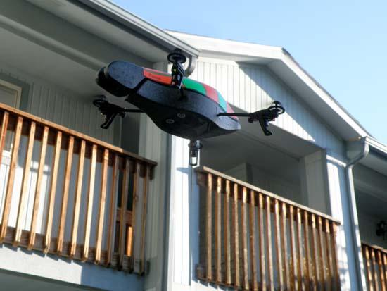 AR.Drone seen from below