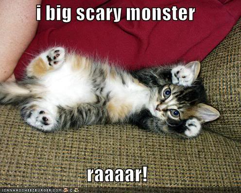 i big scary monster raaaar!