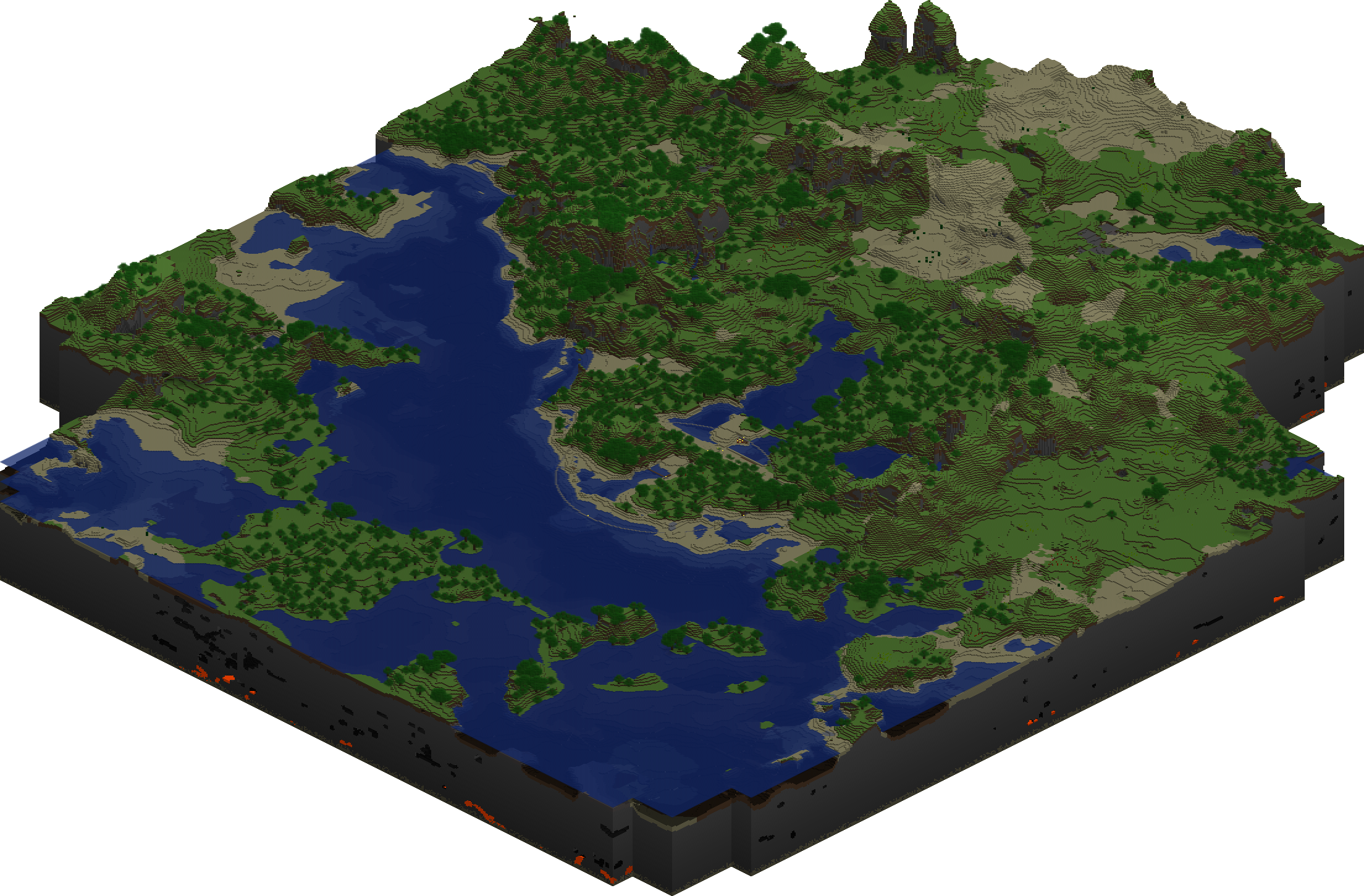 Master marf resuming minecraft map of a newly generated minecraft world gumiabroncs Gallery
