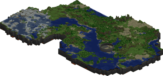 Minecraft World map