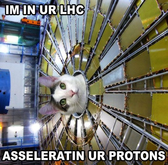 In in ur LHC asseleratin ur protons