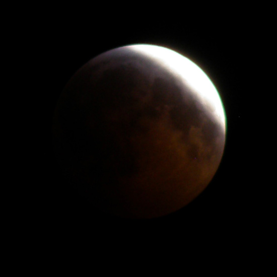 before total lunar eclipse