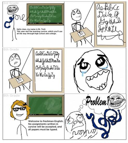 troll cursice comic