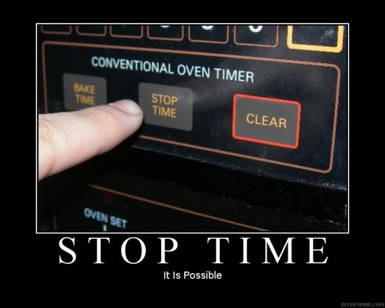 Stop Time / It is possible