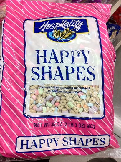 Happy Shapes cereal