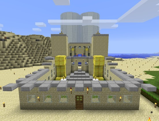 Minecraft Creeper Temple