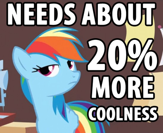 Needs about 20% more coolness