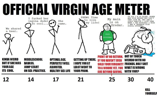Official Virgin Age Meter