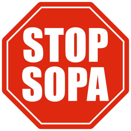 If SOPA should pass, I will be forced to take down this blog and indeed, ...