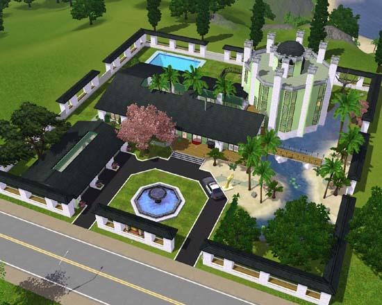 Sims 3 Zenge legacy family house